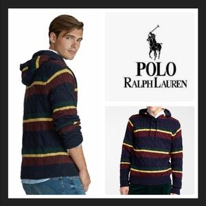 Polo Ralph Lauren St Andrews 2 Cable Hoodie